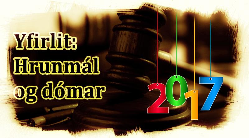 Yfirlit - Hrunmál og dómar2
